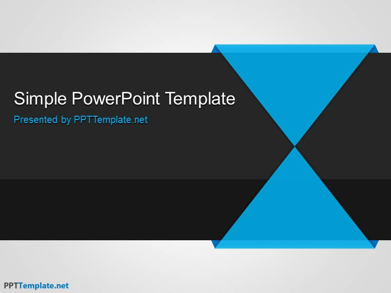 free blue ppt template for presentations