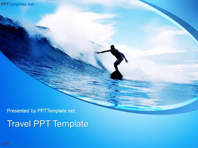 Free Surf PPT Template