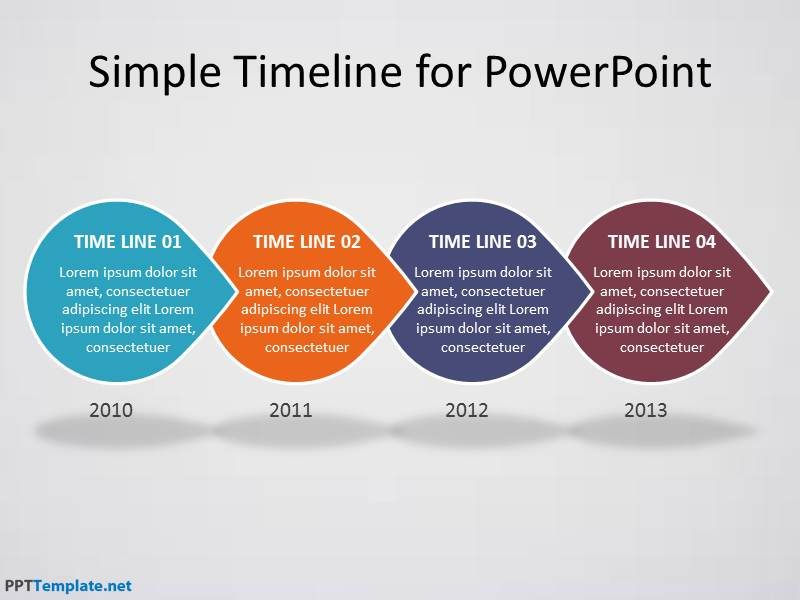 Free template timeline powerpoint presentation toneelgroepblik Image collections