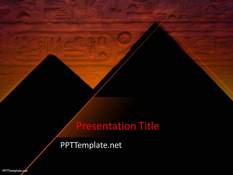 Free Pyramid PPT Template