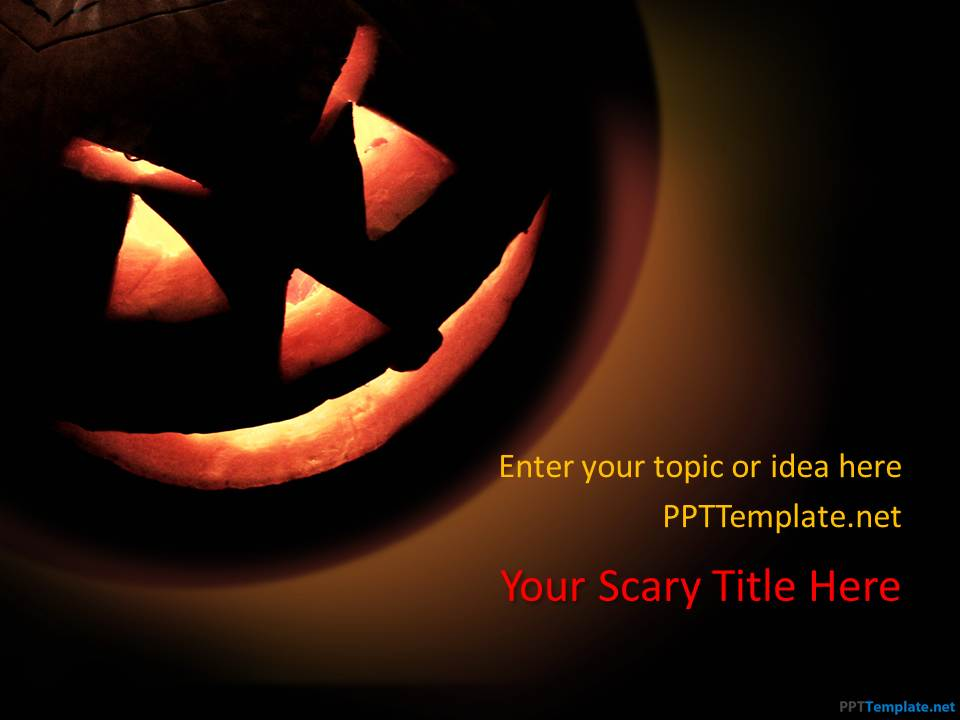 Free Halloween PPT Template