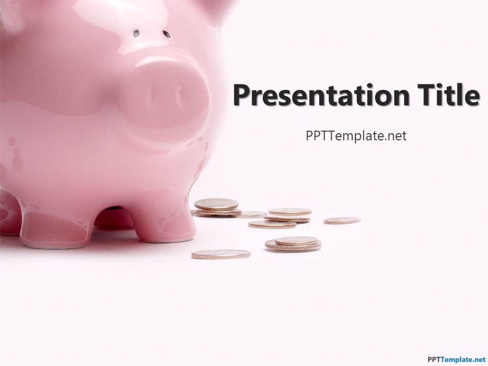 Free Piggy Bank PPT Template