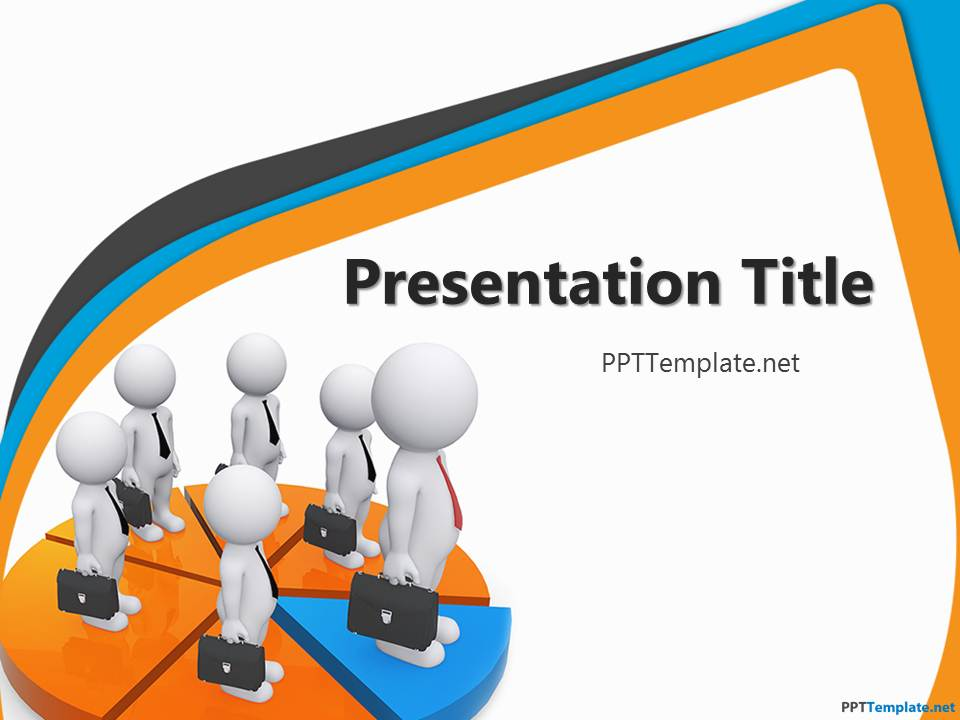 Sales Presentation PPT Template