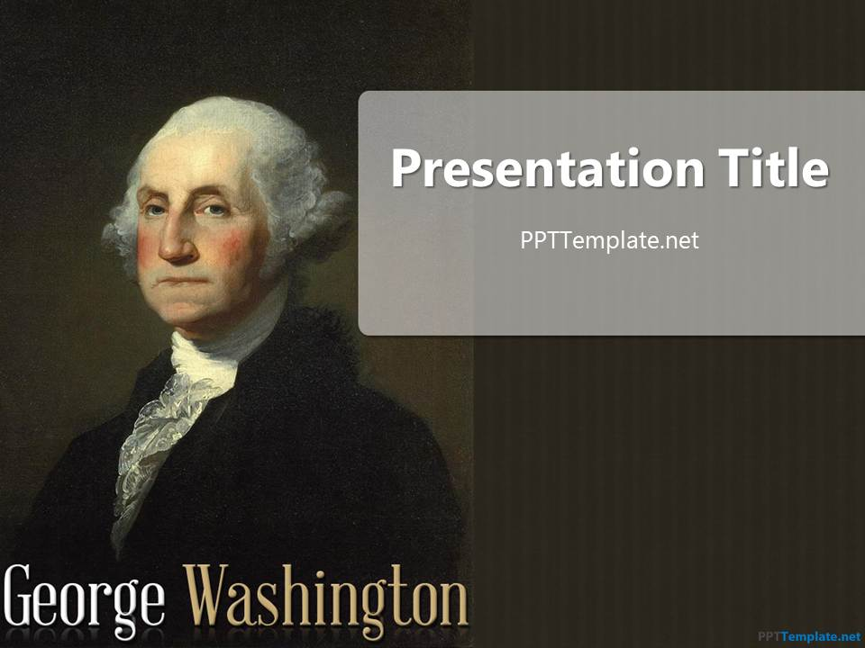 Free George Washington PPT Template