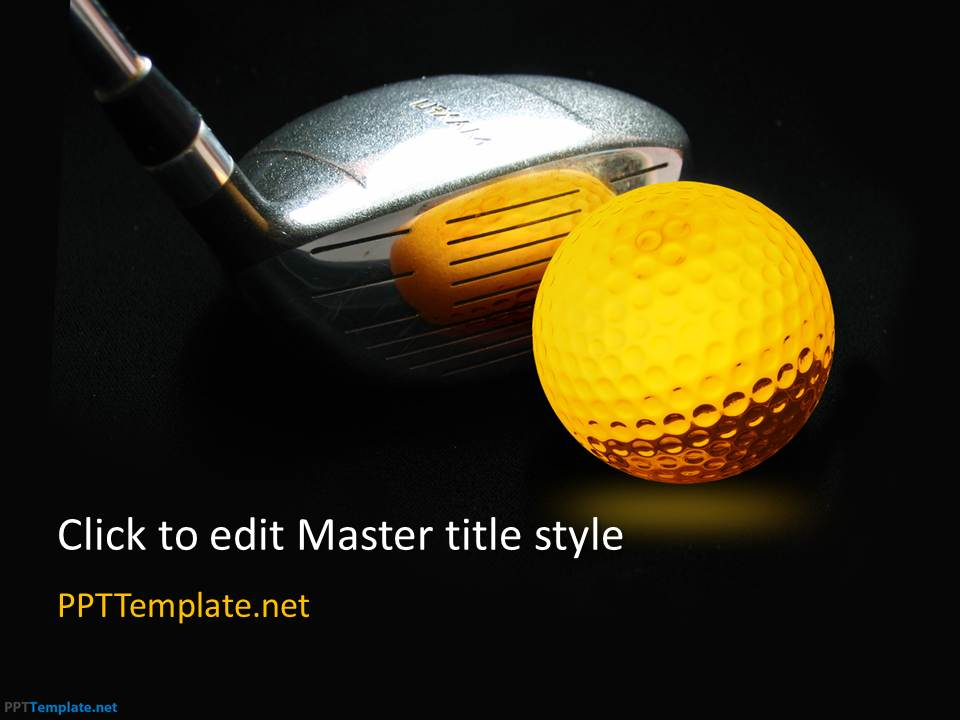Free Golf PPT Template