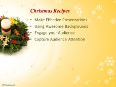 Free Christmas PowerPoint background for presentations