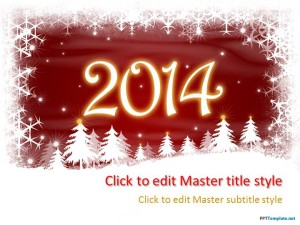 Free New Year Surprise PPT Template