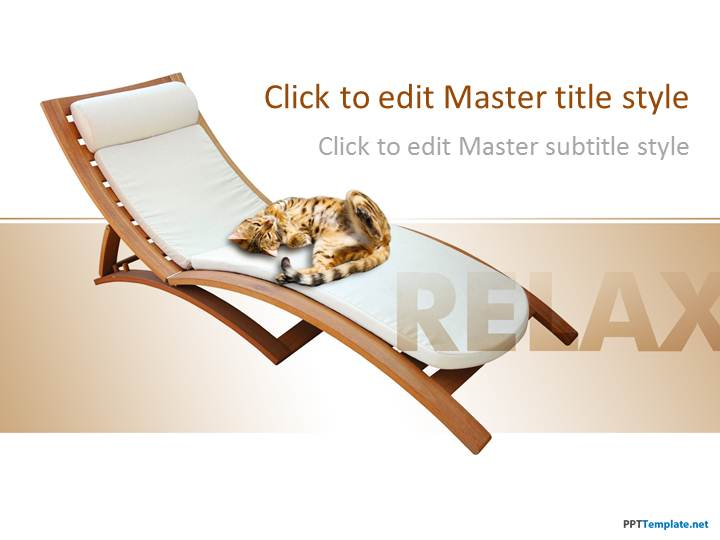 Free Relax Leisure PPT Template