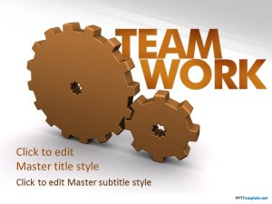 Free Teamwork PPT Template