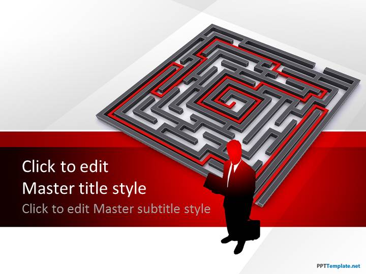 Free Labyrinth PPT Template