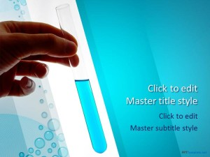 Free Test Tube PPT Template