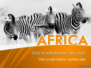 Free Africa PPT Template