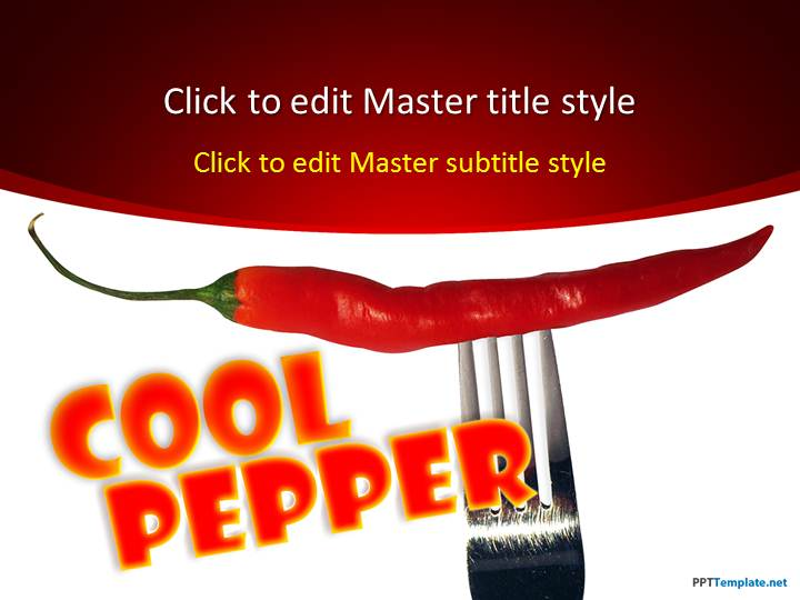 Free Pepper PPT Template