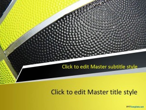 Free Basketball Play PPT Template