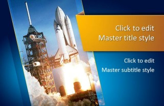 space shuttle powerpoint template - photo #19