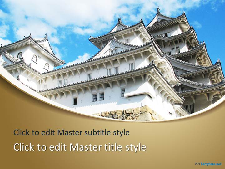Free Himeji Castle PPT Template