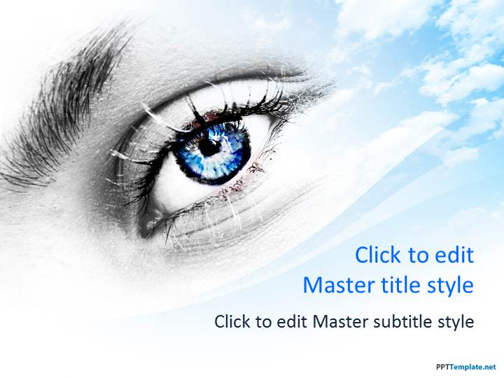 Free Eye PPT Template
