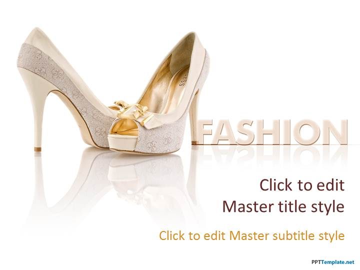 Free Heels PPT Template