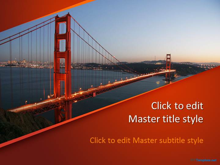 Free Bridge PPT Template