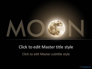 Free Moon PPT Template