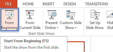 Run PowerPoint Presentation in Sizable or Small Window Without Fullscreen