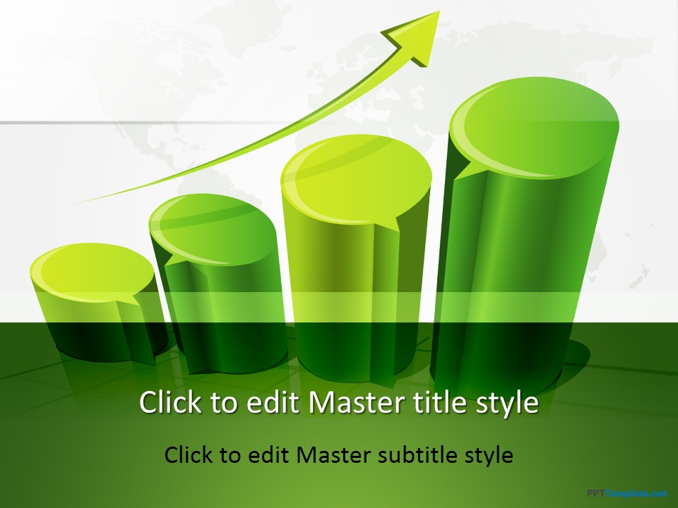 Free 3D Chart PPT Template