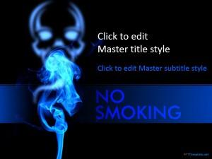 Free No Smoking PPT Template