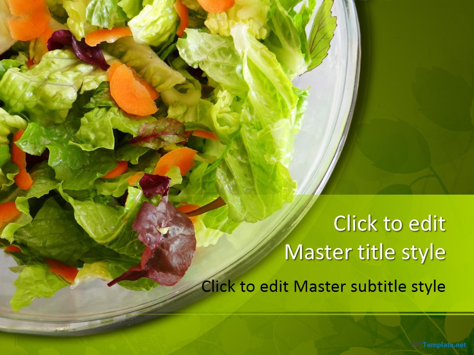 Free Salad PPT Template