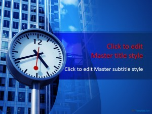 Free Time Management PPT Template