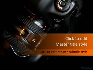 Free Photography Camera PPT Template