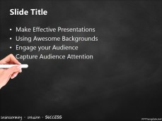 20392-brainstorming-success-chalkhand-black-ppt-template-2