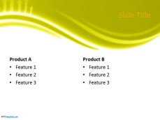 Free yellow ppt template 0046 yellow ppt template 4 toneelgroepblik Image collections