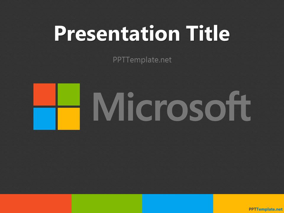 ms word presentation templates