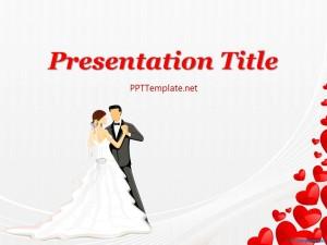 Wedding dance ppt template free wedding dance ppt template toneelgroepblik Images