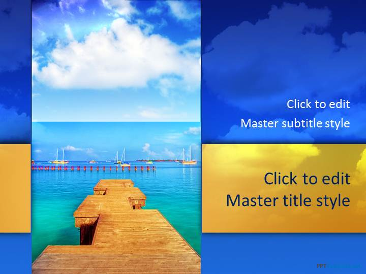 powerpoint templates free download sea gallery - powerpoint, Presentation templates
