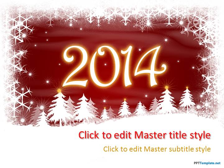 Free new year surprise ppt template toneelgroepblik Gallery