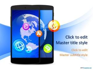 Smartphone ppt template free smartphone ppt template toneelgroepblik Images