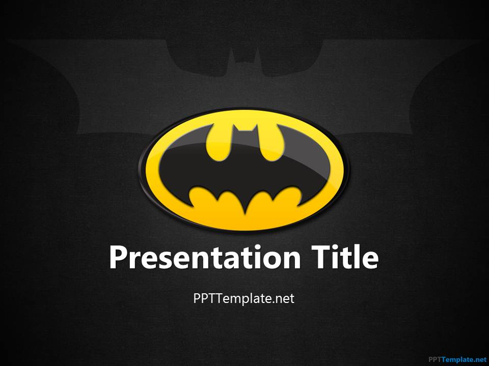 Free Batman Ppt Template