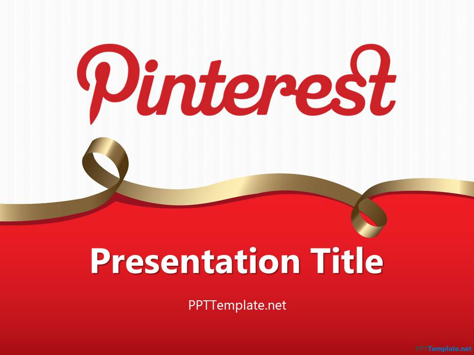 Free marketing ppt template free pinterest ppt template toneelgroepblik Gallery