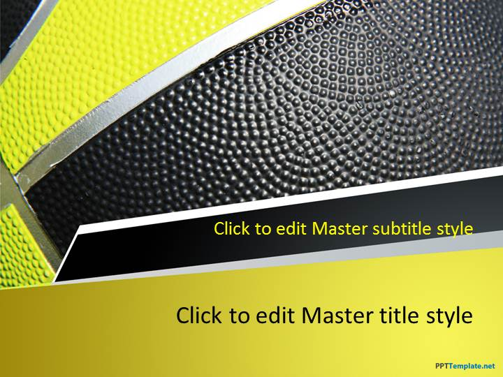 basketball powerpoint template free