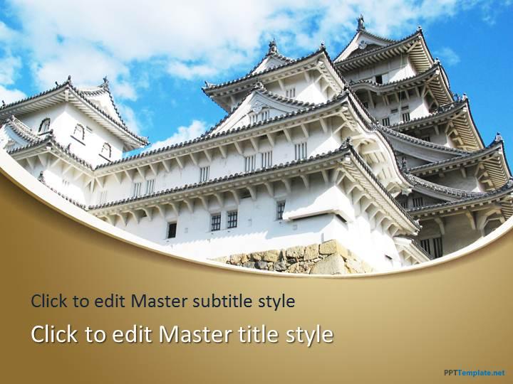 Free himeji castle ppt template toneelgroepblik Images