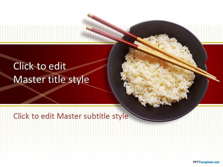 Free rice ppt template toneelgroepblik Images