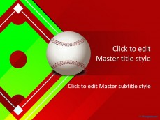 Download free sports powerpoint ppt templates 10339 baseball ppt template 0001 1 toneelgroepblik Choice Image