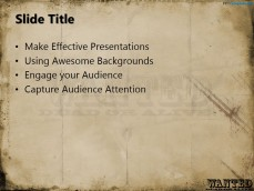 ppt template poster
