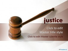 Free professional powerpoint ppt templates 10362 justice ppt template 0001 1 toneelgroepblik Gallery