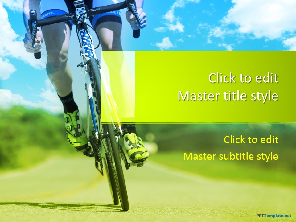 Free Cycling Ppt Template