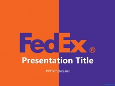 20037-fedex-with-logo-ppt-template-1